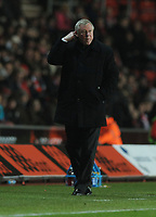Sir Alex Ferguson Manager<br />Manchester United 2010/11<br />Southampton V Manchester United 29/01/11 <br />The FA Cup 4th Round<br />Photo: Robin Parker Fotosports International