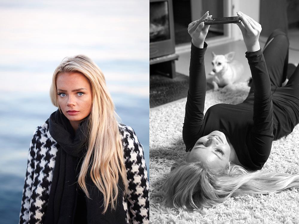 Harstad, 20141129<br /> Bloggeren Sophie Elise Isachsen. Vi tar henne med på tur til hjembyen Harstad og til foreldrene i barndomshjemmet der det hele startet.<br /> Foto: Paul Paiewonsky / Dagbladet MAGASINET