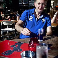 Nederland, Den Haag , 24 juli 2012..Hero Brinkman (Almelo, 29 december 1964) is een Nederlands politicus..Op 19 juni 2012 maakte Hero Brinkman bekend dat hij een nieuwe partij op ging richten, het Democratisch Politiek Keerpunt. De partij is een fusie van zijn Onafhankelijke Burgerpartij en Trots op Nederland van Rita Verdonk. Het Democratisch Politiek Keerpunt doet mee aan de tweede kamerverkiezingen van 2012, maar de plannen zijn nog onbekend. Volgens Brinkman heeft de partij een zeer krachtig geluid van rechts..VOORKEURFOTO HOOFDFOTO.Foto:Jean-Pierre Jans