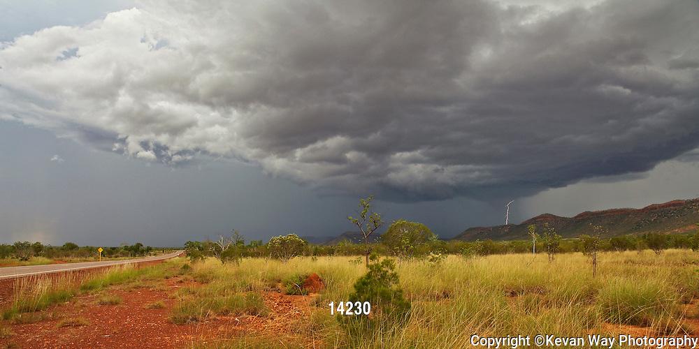 tropical storm The Kimberley WA