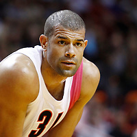 21 January 2012: Miami Heat small forward Shane Battier (31) rests during the Miami Heat 113-92 victory over the Philadelphia Sixers at the AmericanAirlines Arena, Miami, Florida, USA.