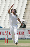 Ryan Sidebottom celebrates in vain during day 3 of the 4th Castle Test between South Africa and England held at The Bidvest Wanderers Stadium in Johannesburg, South Africa on the 16 January 2010.Photo by:  Ron Gaunt/SPORTZPICS