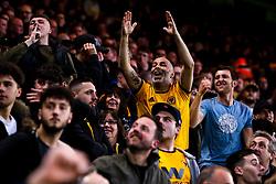 Wolverhampton Wanderers fans celebrate - Mandatory by-line: Robbie Stephenson/JMP - 24/04/2019 - FOOTBALL - Molineux - Wolverhampton, England - Wolverhampton Wanderers v Arsenal - Premier League