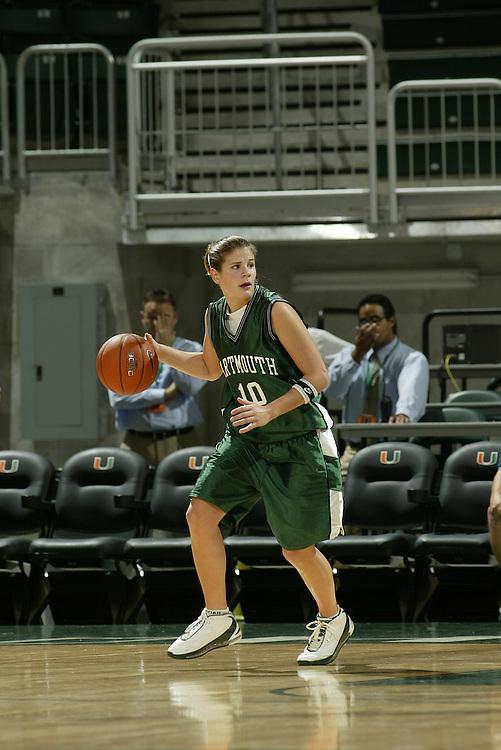 JC Ridley Photos Archive<br /> <br /> 2004 Dartmouth Women's Basketball