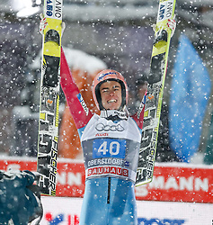 29.12.2014, Schattenbergschanze, Oberstdorf, GER, FIS Ski Sprung Weltcup, 63. Vierschanzentournee, Bewerb, im Bild Sieger Stefan Kraft (AUT) // Stefan Kraft of Austria// during Competition of 63 rd Four Hills Tournament of FIS Ski Jumping World Cup at Schattenbergschanze, Oberstdorf, GER on 2014/12/29. EXPA Pictures © 2014, PhotoCredit: EXPA/ Peter Rinderer