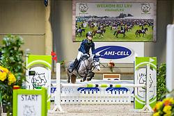 Vermeir Jules, BEL, Oilily van het Rozendaelhof<br /> Nationaal Indoor Kampioenschap Pony's LRV <br /> Oud Heverlee 2019<br /> © Hippo Foto - Dirk Caremans<br /> 09/03/2019