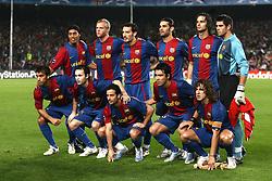 Barcelona /Werder Bremen Champions League 05.12.06.Barcelona team group 2006/07
