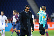 Unai Emery (PSG) desappointed during the French Championship Ligue 1 football match between Paris Saint-Germain and ESTAC Troyes on November 29, 2017 at Parc des Princes stadium in Paris, France - Photo Stephane Allaman / ProSportsImages / DPPI