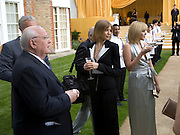 MIKHAIL GORBECHEV,  ELENA PERIMNOVA AND ANASTASIA VIRGANSKAYA. Raisa Gorbachev Foundation Party, at the Stud House, Hampton Court Palace on June 7, 2008 in Richmond upon Thames, London,Event hosted by Geordie Greig and is in aid of the Raisa Gorbachev Foundation - an international fund fighting child cancer.  7 June 2008.  *** Local Caption *** -DO NOT ARCHIVE-© Copyright Photograph by Dafydd Jones. 248 Clapham Rd. London SW9 0PZ. Tel 0207 820 0771. www.dafjones.com.