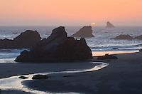 Sunset at Harris Beach State Park Oregon