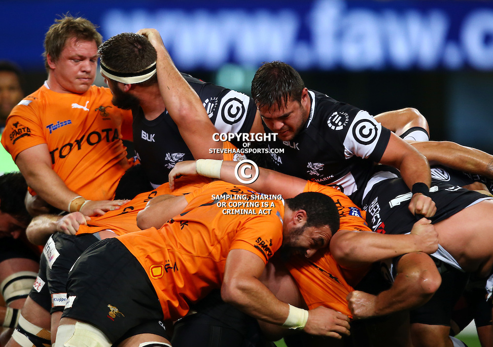 DURBAN, SOUTH AFRICA - SEPTEMBER 10: General views during the Currie Cup match between the Cell C Sharks and Toyota Cheetahs at Growthpoint Kings Park on September 10, 2016 in Durban, South Africa. (Photo by Steve Haag/Gallo Images)