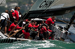 Auckland New Zealand, 31.1.09 Louis Vuitton Pacific Series racing day 2, China, winner Damiani Italia Challenge