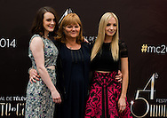 Mc Shera Sophie, Nicol Lesley, Froggatt Joanne, attend photocall at the Grimaldi Forum on June 10, 2014 in Monte-Carlo, Monaco.