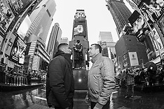 January 31, 2017: Anthony Joshua vs Wladimir Klitschko NYC Press Conference