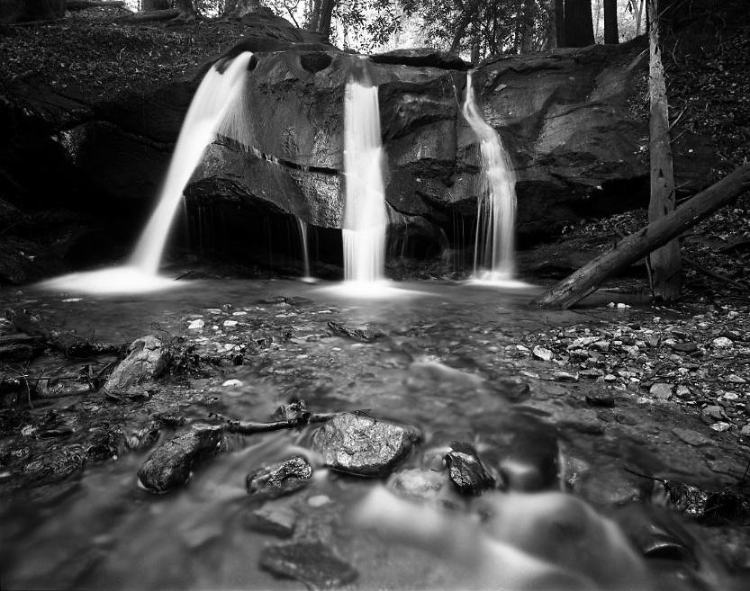 Jones Creek - North Georgia - Chattahoochee National Forest - Mamiya 7II/43mm lens/Ilford Film