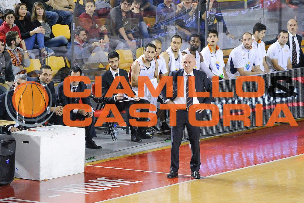 DESCRIZIONE : Roma Lega A 2014-15 <br /> Acea Roma EA7 Milano<br /> GIOCATORE : Dalmonte Luca<br /> CATEGORIA : Delusione Allenatore Coach<br /> SQUADRA : Acea Roma<br /> EVENTO : Lega A 2014-15 <br /> GARA : Acea Roma EA7 Milano<br /> DATA : 21/12/2014<br /> SPORT : Pallacanestro<br /> AUTORE : Agenzia Ciamillo-Castoria/giuliociamillo<br /> Galleria : Lega Basket A 2014-2015<br /> Fotonotizia : <br /> Predefinita :