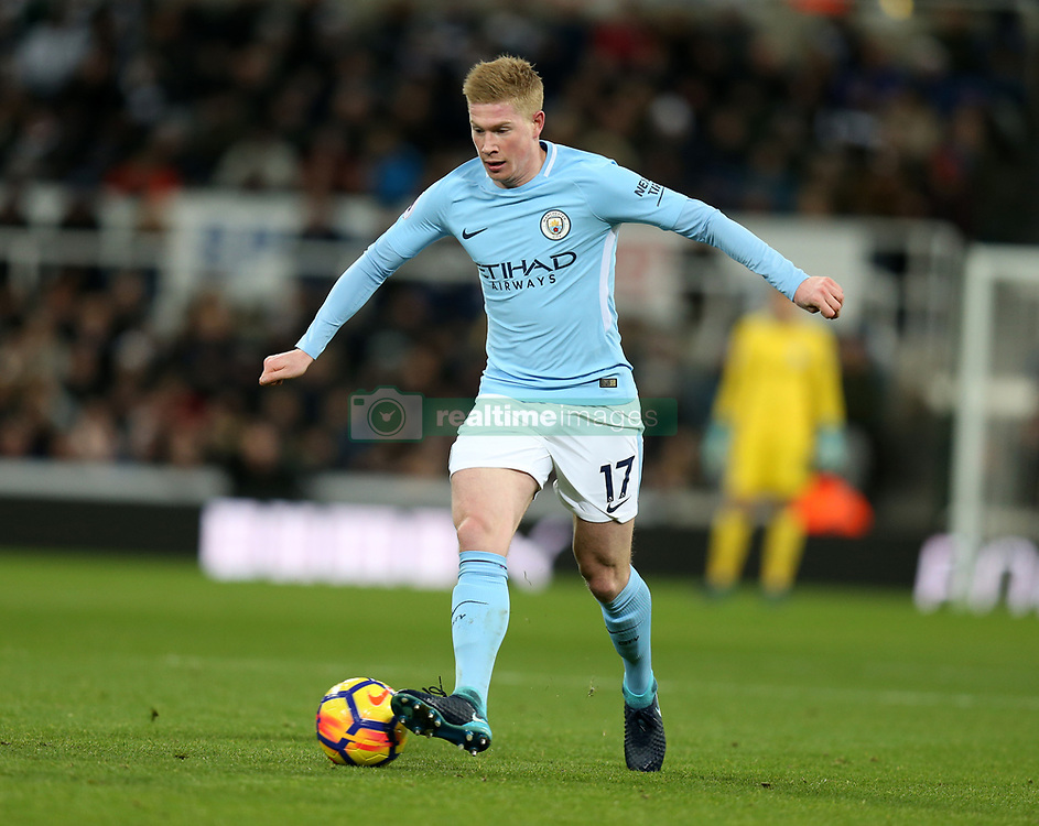 27 December 2017 Newcastle: Premier League Football - Newcastle United v Manchester City : Kevin De Bruyne of Man City.<br /> (photo by Mark Leech)