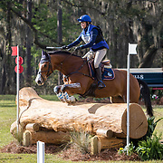 Katherine Coleman (USA) and Monte Classico at the Red Hills International Horse Trials in Tallahassee, Florida.
