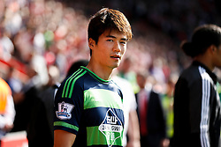 Swansea City's Ki Sung-Yueng - Mandatory by-line: Jason Brown/JMP - 07966 386802 - 26/09/2015 - FOOTBALL - Southampton, St Mary's Stadium - Southampton v Swansea City - Barclays Premier League