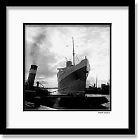 25 February 1952 - RMS Queen Elizabeth.