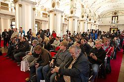 01.12.2012, Graz, AUT, Formel 1 Show Run in Graz im Bild Pressekonferenz in der Aula der alten Universität // during the Formel 1 Show Run in Graz, Austria on 2012/12/01. EXPA Pictures © 2012, PhotoCredit: EXPA/ M. Kuhnke
