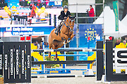 Carly Anthony - Jule van den Tinnenpot<br /> FEI World Breeding Jumping Championships for Young Horses 2016<br /> © DigiShots