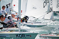 KoreaLaser RadialMenHelmKORMJ2Min GyuJeong<br />Day5, 2015 Youth Sailing World Championships,<br />Langkawi, Malaysia
