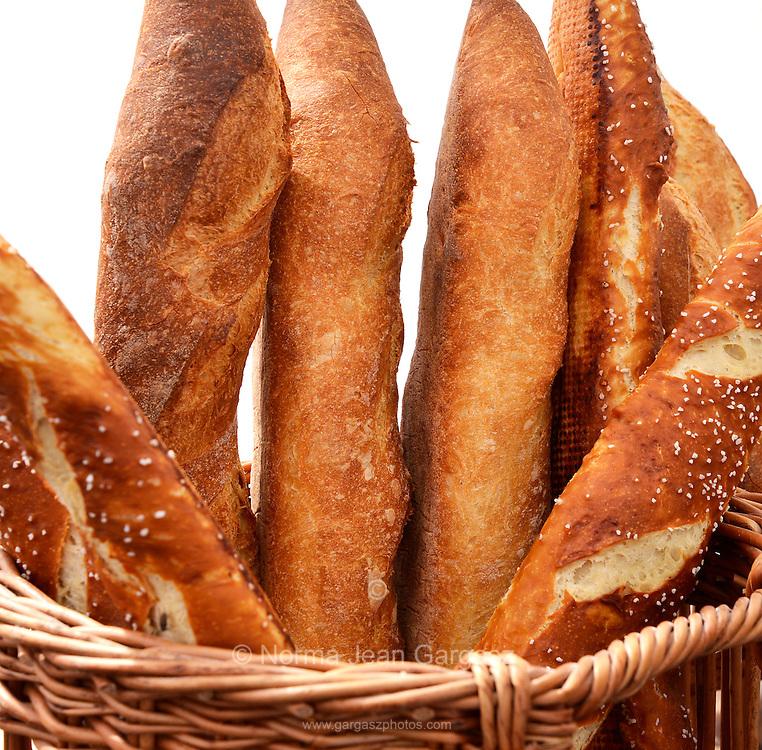 Artisan and French bread, Farmers Market, Tucson, Arizona, USA.