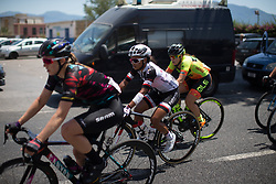Coryn Rivera (USA) of Team Sunweb rides in the break in the seventh lap of Stage 10 of the Giro Rosa - a 124 km road race, starting and finishing in Torre Del Greco on July 9, 2017, in Naples, Italy. (Photo by Balint Hamvas/Velofocus.com)