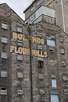 Bolands Mills, historic site in Dublin's 1916 rising, Ireland