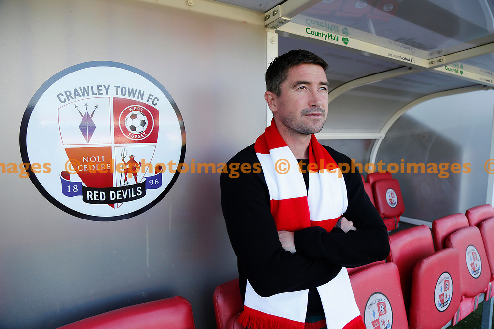 New Crawley Town Head Coach Harry Kewell. 26 May 2017