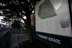 UK ENGLAND LONDON 19AUG11 - General view of the Pembury Estate in Clarence Road, Hackney, east London. During the August riots in London, Clarence Road in Hackney featured some of the most devastating scenes of looting and violence...jre/Photo by Jiri Rezac..© Jiri Rezac 2011