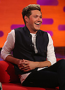 London Niall Horan, Amy Adams, Jeremy Renner and Chris O'Dowd on The Graham Norton Show - 13 Oct 201