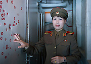 "Americans seen by North Korean's<br /> <br /> The USA is the arch nemesis of North Korea, but Americans can still visit the country. According to the Juche Travel, the North Korean travel agency, ""American tourists are permitted to visit the DPRK however they can only enter or exit the country by plane (not train), and cannot spend more than 10 days in the country.""<br />  I met many American tourists during my 6 trips, and most of them were surprised as they were well welcomed by the guides and locals alike. It was a far cry from the aggressive propaganda and menacing official statements issued by the regime. The Americans were allowed to go everywhere except the homestays in the Chilbo area where tourists sleep in [carefully selected] local farmers' seaside homes. There was no explanation given, just an ""It is not possible"".<br />  North Koreans are quick to employ images and symbols of America in their own propaganda. During the Cold War, they seized the American spy boat, the USS Pueblo. It is now a Pyongyang tourist attraction. The guide on the boat explains that the US soldiers wrote letters of apology since they were so ashamed of what they did to North Korea. After Bill Clinton went to North Korea to seek the release of American journalists Laura Ling and Euna Lee who were arrested by the North Koreans while researching human-trafficking, a director made a movie with the tv footages.<br /> In the giant ""Gifts Museum"" that displays all the gifts the Dear Leaders received from all around the world (mainly from communist countries), the guides are proud to point out Secretary of State Madeleine Albright's gift to Kim Jong-Il: a basketball autographed by Michael Jordan. No photo allowed!<br />  Most of the propaganda posters depicting North Korea's hatred of the USA has been removed from the streets. Photographing the only such billboard I saw during my stay in Pyongyang was not easy as the guides always found an excuse not to stop the bus. ""Too much traffic,"" they said, on a"