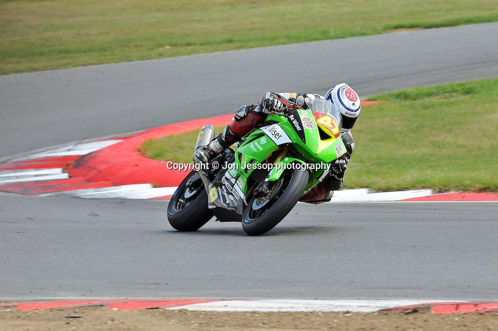 #47 Nick Anderson Be Wiser Kawasaki Superstock 600