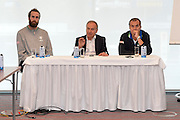 DESCRIZIONE: Berlino EuroBasket 2015 - Allenamento<br /> GIOCATORE:Luigi Datome Gianni Petrucci Simone Pianigiani<br /> CATEGORIA: Conferenza Stampa<br /> SQUADRA: Italia Italy<br /> EVENTO:  EuroBasket 2015 <br /> GARA: Berlino EuroBasket 2015 - Allenamento<br /> DATA: 04-09-2015<br /> SPORT: Pallacanestro<br /> AUTORE: Agenzia Ciamillo-Castoria/M.Longo<br /> GALLERIA: FIP Nazionali 2015<br /> FOTONOTIZIA: Berlino EuroBasket 2015 - Allenamento