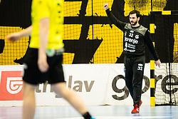 Taletovic Emir of RK Gorenje Velenje during handball match between RK Gorenje Velenje and Abanca Ademar Leon in Round #32 of EHF Cup 2019/20, 28 February, 2020 in Rdeca Dvorana, Velenje Slovenia. Photo By Grega Valancic / Sportida
