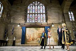 Königin Maxima und König Willem Alexander zu Besuch in der Universität von Sydney <br /> <br /> / 031116 <br /> <br /> *** King Willem-Alexander and Queen Maxima of The Netherlands visit the University of Sydney. The Dutch King and Queen are in Australia for a 5 day state visit; November 3rd, 2016 ***