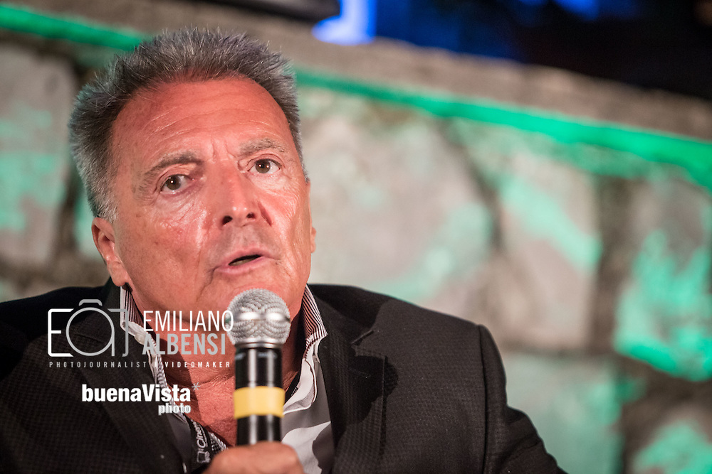 Maratea, Basilicata, Italia, 20/08/2014<br /> L'attore americano Armand Assante alla Settimana del Cinema di Maratea<br /> <br /> Maratea, Basilicata, Italy, 20/08/2014<br /> The American actor Armand Assante in Maratea for the Week of Cinema 2014