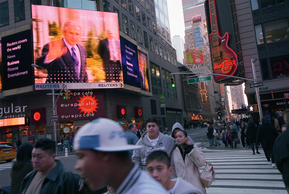 Time Square..New York, New York. 05/11/2006.Photo © J.B. Russell