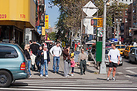 Bowery and Grand, near Chinatown in New York City October 2008