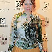 NLD/Amsterdam/20130205 - Modeshow Nikki Plessen 2013, Sanne Vogel