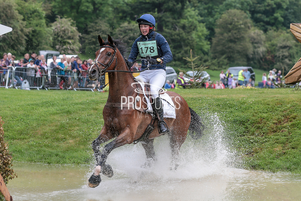 FOREIGN ENCOUNTER ridden by Nicola Rooke at Bramham International Horse Trials 2016 at  at Bramham Park, Bramham, United Kingdom on 11 June 2016. Photo by Mark P Doherty.