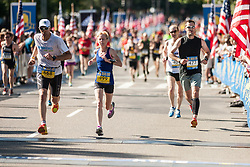 Boston Athletic Association 10K road race: Laurie Nicholas