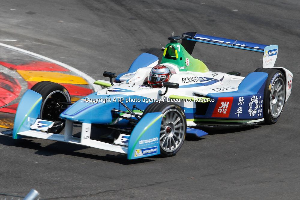 Jarno Trulli, (ITA) Trulli Formula E racing,<br /> Buenos Aires; January 10th 2015, E-Prix, FIA Formula E, <br /> fee liable image, copyright@ ATP Decurnex Roberto