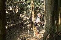 Tourist Among Ruins
