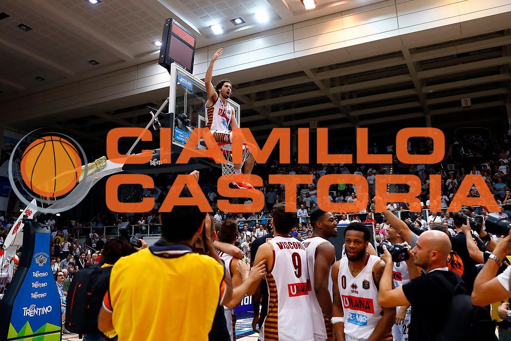 Ariel Filloy<br />Dolomiti Energia Trento - Umana Reyer Venezia<br />Lega Basket Serie A 2016-2017<br />Playoff FINALE Gara 6<br />Avellino 20/06/2017<br />Foto Ciamillo-Castoria