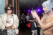 ALEX EAGLE; AS ANNA WINTOUR; JACK GUINNESS; , Browns Focus Halloween party. Shepherds Bush pavilion. Shepherds Bush. London. 30 October 2009