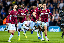 Aston Villa celebrates after winning on penalties against West Bromwich Albion to book their place in the Sky Bet Championship Playoff Final - Mandatory by-line: Robbie Stephenson/JMP - 14/05/2019 - FOOTBALL - The Hawthorns - West Bromwich, England - West Bromwich Albion v Aston Villa - Sky Bet Championship Play-off Semi-Final 2nd Leg