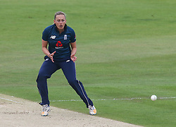 June 15, 2018 - Canterbury, England, United Kingdom - Laura Marsh of England Women.during Women's One Day International Series match between England Women against South Africa Women at The Spitfire Ground, St Lawrence, Canterbury, on 15 June 2018  (Credit Image: © Kieran Galvin/NurPhoto via ZUMA Press)